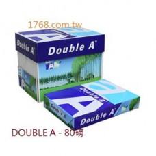 【DOUBLE A 】B4 -80P 白色影印紙 (DA) 一箱5包
