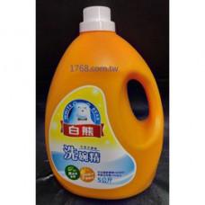白熊洗碗精 5公斤/桶
