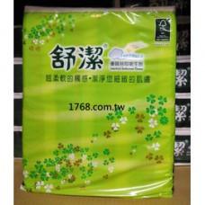 舒潔抽取式衛生紙 100抽 一箱80包