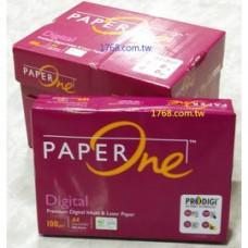 【PAPER ONE】 A4 -100P-白色影印紙- 500張/包